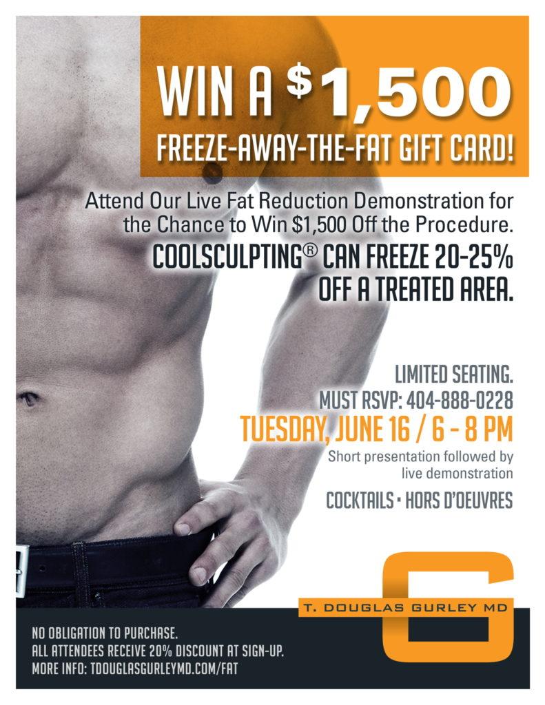 Atlant Coolsculpting Freeze the fat
